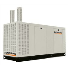 100 Kw Liquid-Cooled 417 Amp Natural Gas Standby Generator with Catalytic Converter, and CSA, SCAQMD, and EPA Compliance in Aluminum Enclosure