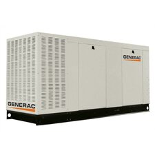 70 Kw Liquid-Cooled Propane Standby Generator with Catalytic Converter and CSA, EPA Compliance in Aluminum Enclosure