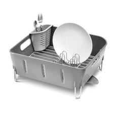 Plastic Compact Dishrack in Grey