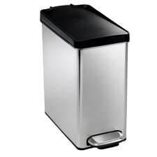 Profile 2.6-Gal Step Trash Can with Plastic Lid
