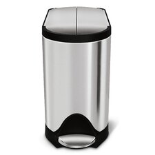 2.6-Gal. Butterfly Step Trash Can