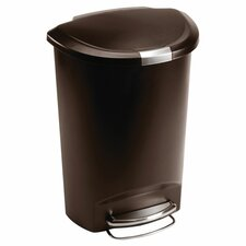 13-Gal Step-On Trash Can
