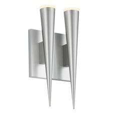 Micro Cone 2 Light LED Wall Sconce