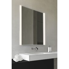 LED Vertical 2 Light Vanity Light with Mirror
