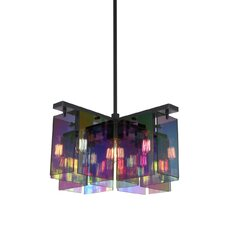 Dichroix 5 Light Foyer Pendant