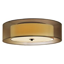 Puri 3 Light Flush Mount