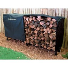 8' Heavy Duty Log Rack Cover