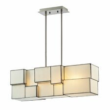 Cubist 4 Light Chandelier
