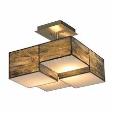 Cubist 2 Light Semi-Flush Mount