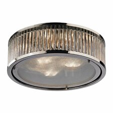 Linden 3 Light Flush Mount