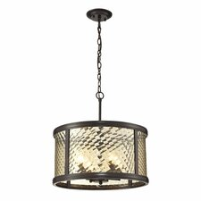 Chandler 4 Light Drum Pendant