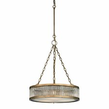 Linden 3 Light Drum Pendant