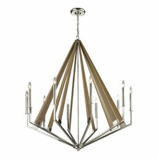 Madera 10 Light Candle Chandelier