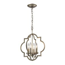 Chandette 4 Light Foyer Pendant