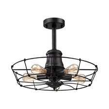 Glendora 5 Light Semi Flush Mount