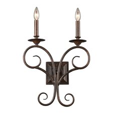 Gloucester 2 Light Wall Sconce