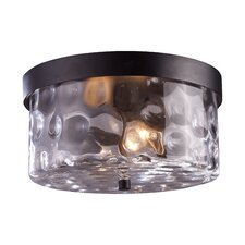 Grand Aisle 2 Light Flush Mount