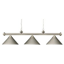 Casual Traditions 3 Light Kitchen Island Pendant