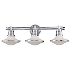 Retrospectives 3 Light Bath Vanity Light