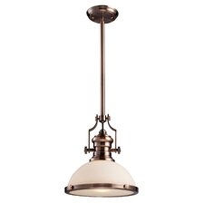 Chadwick 1 Light Bowl Pendant
