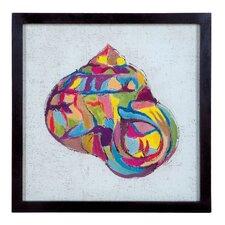 """Coastal Colors Four"" Framed Painting Print"