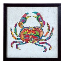 """Coastal Colors Three"" Framed Painting Print"