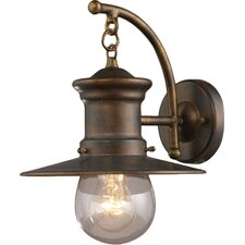 Maritime 1 Light Outdoor Sconce