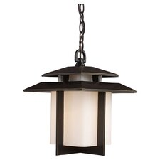 Kanso 1 Light Outdoor Hanging Lantern