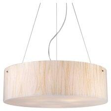Modern Organics 5 Light Drum Pendant