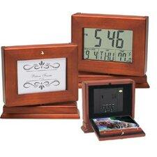 The Album LCD Clock & Photo Album