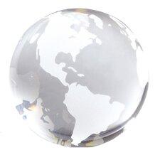 Transparent Globe Paperweight