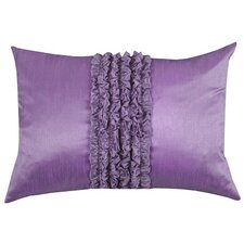 Urban Loft Ruffle Feather Filled Lumbar Pillow