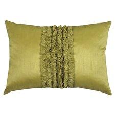 Urban Loft Ruffle Feather Filled Lumbar Pillow