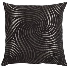 Urban Loft Swirly Feather Filled Throw Pillow