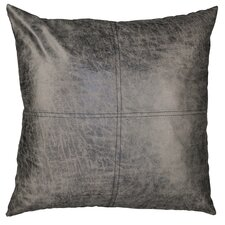 Urban Loft Fun Leather Throw Pillow