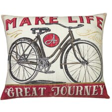 Urban Loft Make Life Throw Pillow