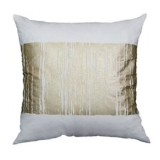 Couch Potatoes Foil Fade Stripe Throw Pillow