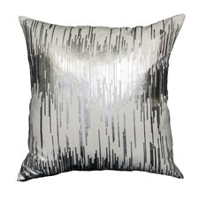 Couch Potatoes Foil Static Throw Pillow