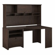 Buena Vista Corner Executive Desk with Hutch