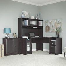 Cabot 3-Piece L-Shape Desk Office Suite