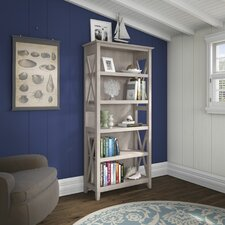 "Key West 5 Shelf 65.9"" Standard Bookcase"