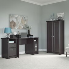 Cabot 3-Piece Standard Desk Office Suite