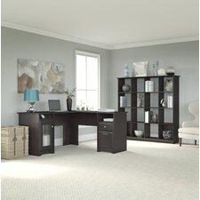Cabot 2-Piece L-Shape Desk Office Suite