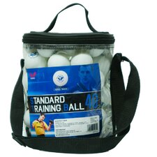 Standard Table Tennis Training Balls with Bucket (Set of 72)