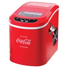 "Coca-Cola Series 9.5"" W Portable Ice Maker"