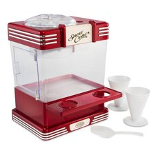 Retro 3 Piece Snow Cone Machine Set