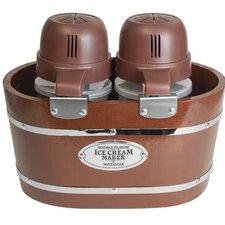4-qt. Electric Double Flavor Ice Cream Maker