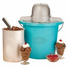4 qt. Plastic Bucket Ice Cream Maker