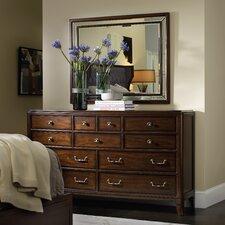 Palisade 11 Drawer Dresser with Mirror