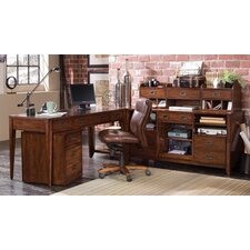 Danforth 2-Piece L-Shape Desk Set